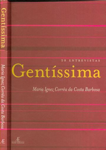 Gentíssima - Com dedicatória da autora