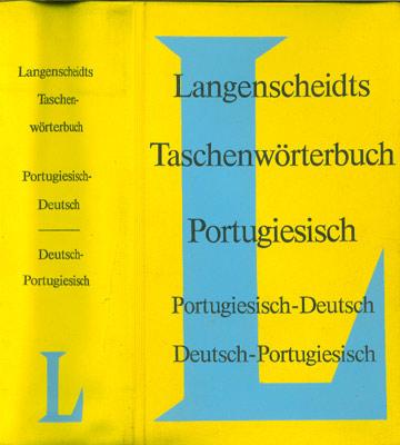 Langenscheidts Taschenworterbuch - Portugiesisch - Portugiesisch/Deutsch - Deutsch/Portugiesisch