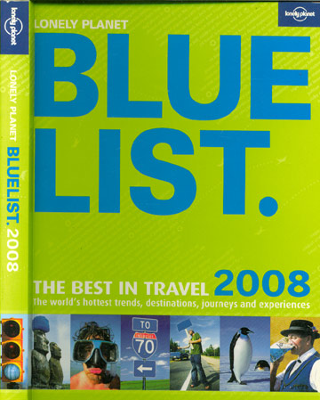 Lonely Planet - Blue List - 2008