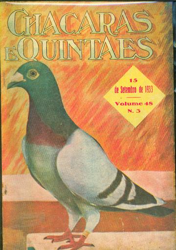 Chacaras e Quintaes - Setembro de 1933 - Vol. 48 - Nº.03