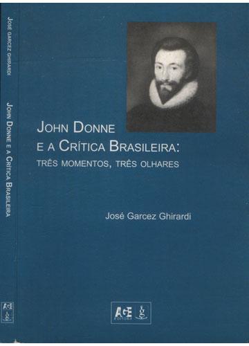 John Donne e a Crítica Brasileira