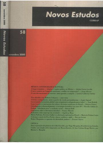 Novos Estudos - Cebrap - Nº 58