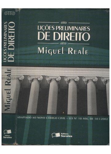 Lições Preliminares de Direito