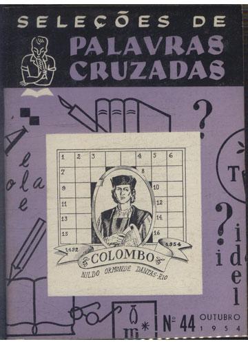Seleções de Palavras Cruzadas - Nº.44 - Outubro 1954