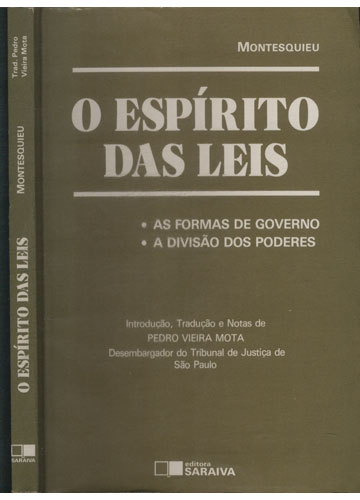 Do Espírito das Leis