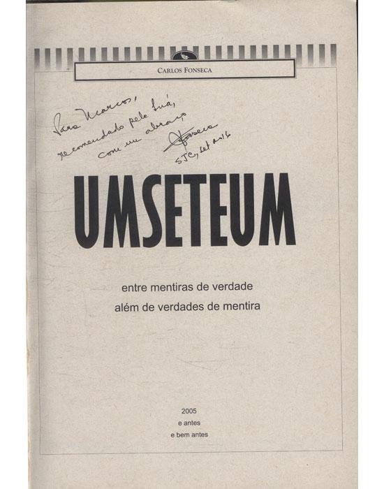 Umseteum - Com Dedicatória do Autor
