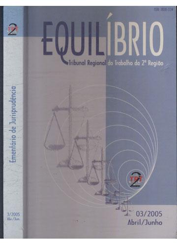 Ementário de Jurisprudência - N°3/2005 - Abr./Jun. - Equilíbrio