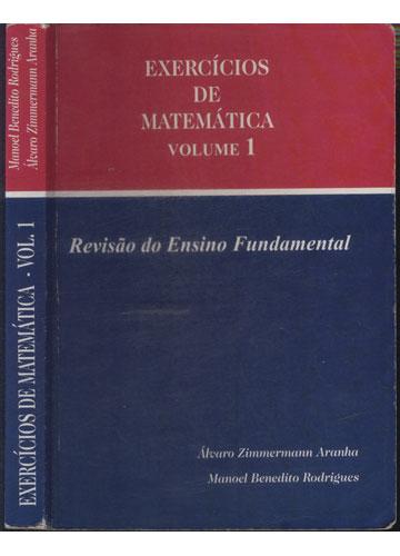 Exercicios de Matemática - Volume 1