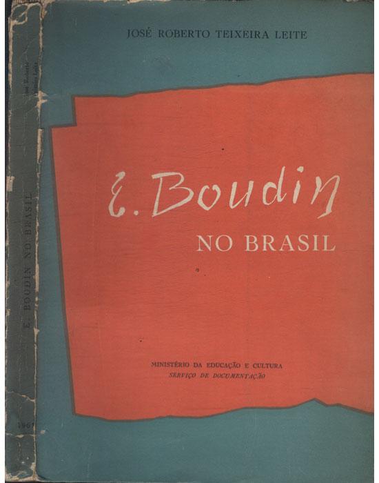 E. Boudin no Brasil