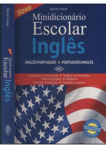 Novo Minidicionário Escolar Inglês