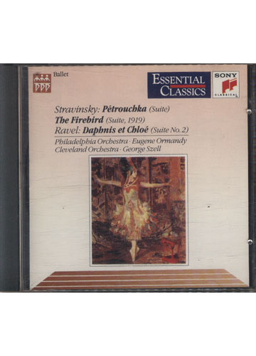 Stravinsky: Pétrouchka \ The Firebird - Ravel: Daphnis et Chloé