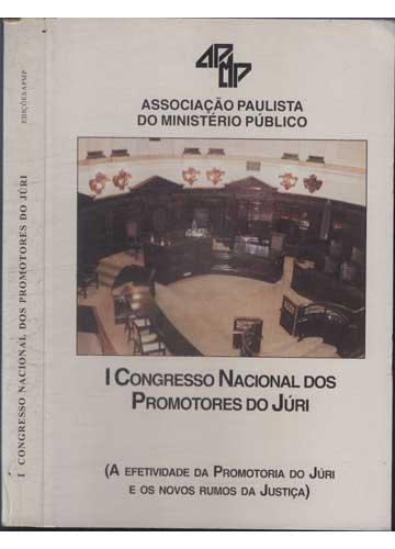I Congresso Nacional dos Promotores do Júri