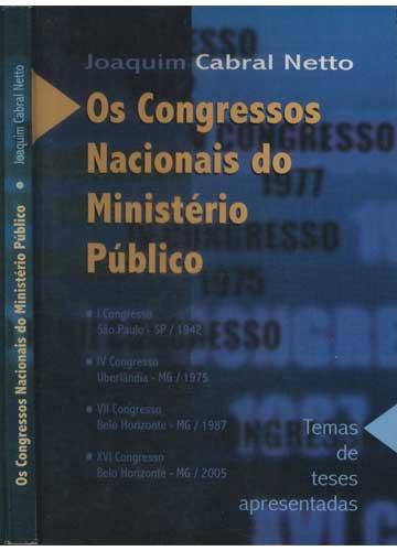 Os Congressos Nacionais do Ministério Público
