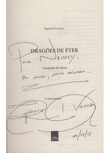 Dragões de Éter - Com Dedicatória do Autor
