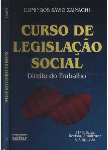Curso de Legislação Social