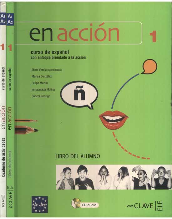 En Acción - Curso de Español - Com Livro de Exercícios + 2 CDs