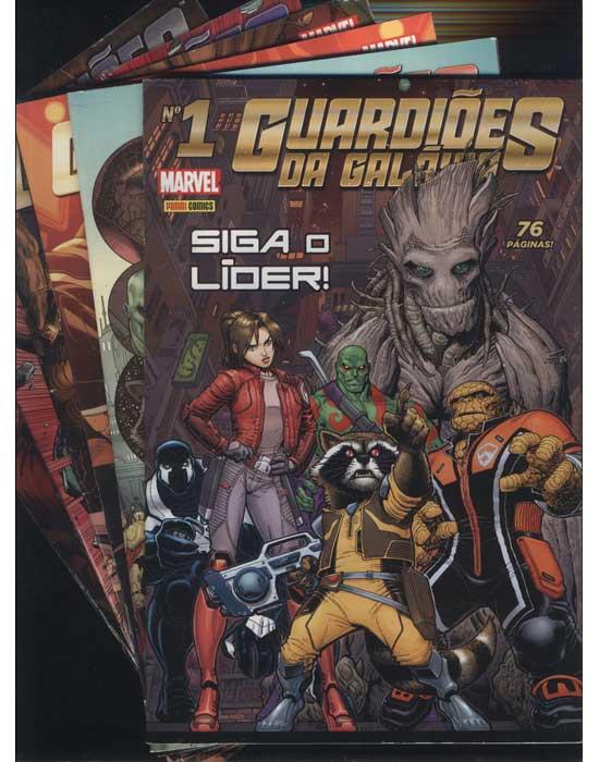Guardiões da Galáxia - 6 Primeiros Números