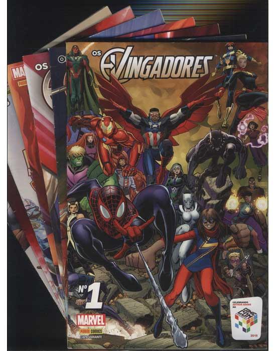 Os Vingadores - 7 Volumes - Do Nº1 ao Nº7