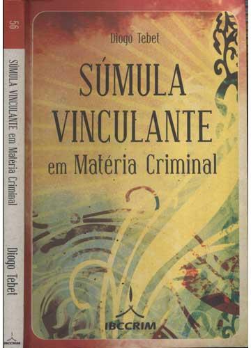 Súmula Vinculante em Matéria Criminal