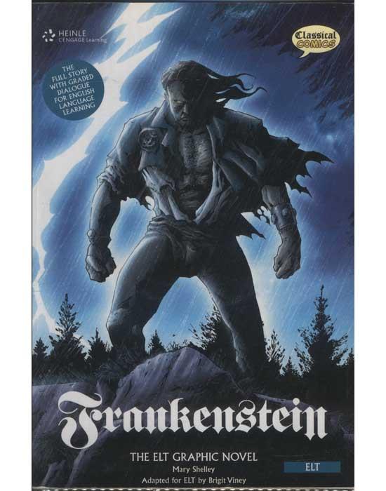 Frankenstein - The Elt Graphic Novel - Com 2 CDs (em inglês)