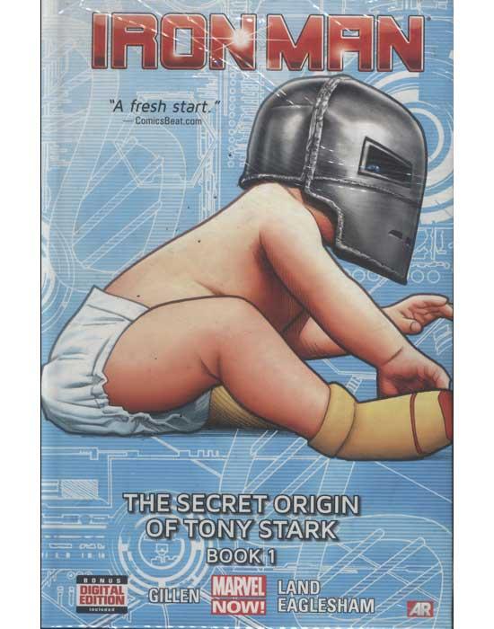 Iron Man - Volume 2 - The Secret Origin of Tony Stark - Book 1