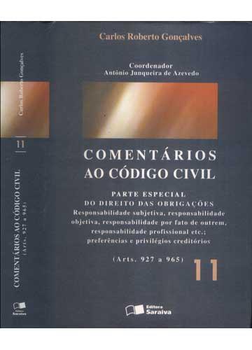 Comentários ao Código Civil - Volume 11