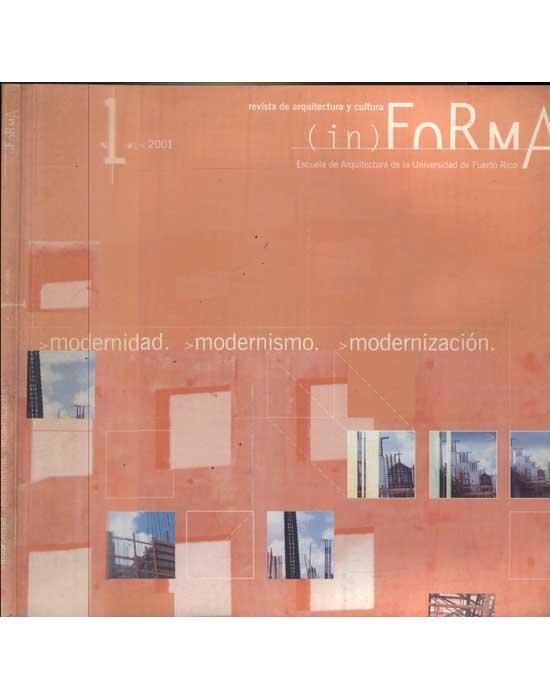 In Forma - Volume 1 - 2001 - Modernidad - Modernismo - Modernización