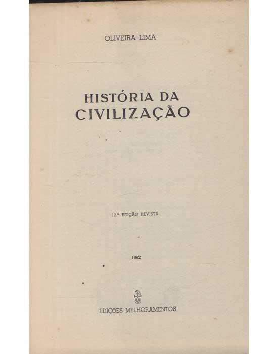 História da Civilização
