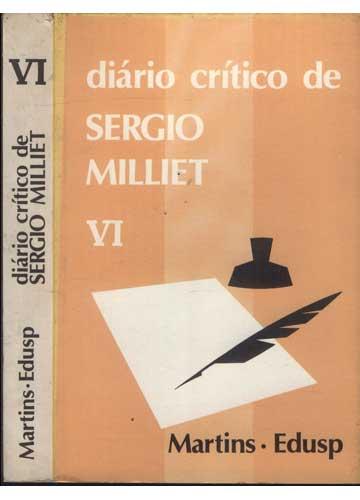 Diário Crítico de Sergio Milliet - Volume VI