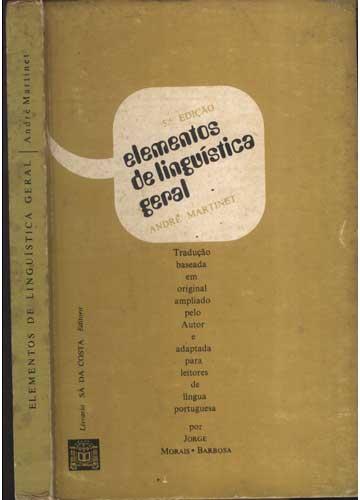 Elementos de Linguística Geral