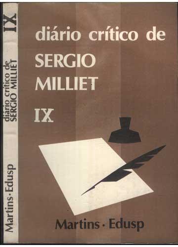 Diário Crítico de Sergio Milliet - Volume IX