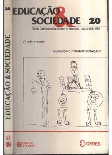 Educação & Sociedade - Nº.20