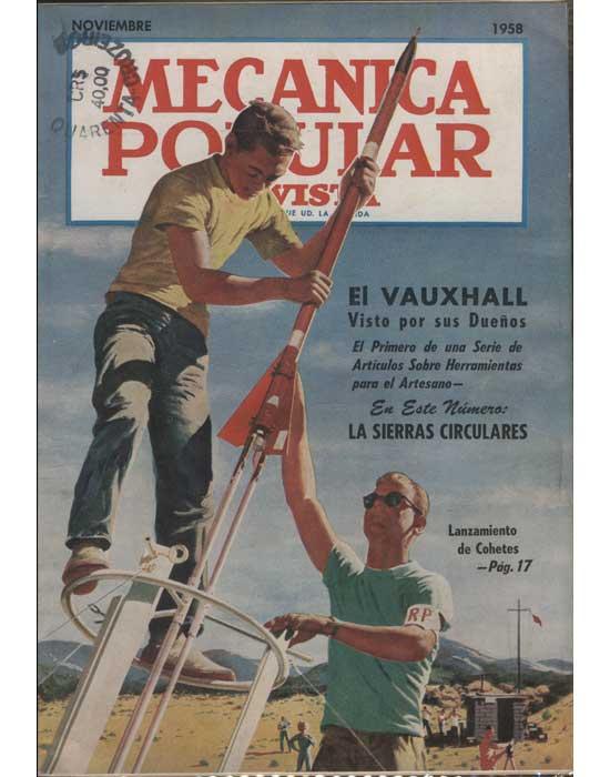Mecanica Popular - Volume 23 - Noviembre 1958 - Número 5