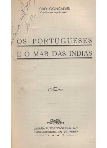 Os Portugueses e o Mar das Índias