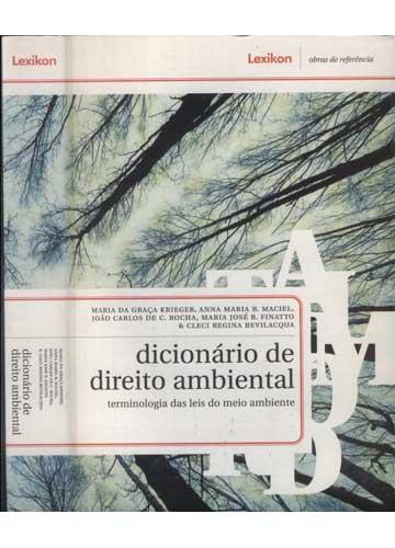 Dicionário de Direito Ambiental