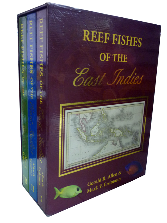 Reef Fishes East Indies - 3 Volumes Caixa