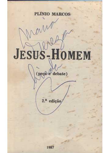 Jesus Homem - Com Dedicatória do Autor
