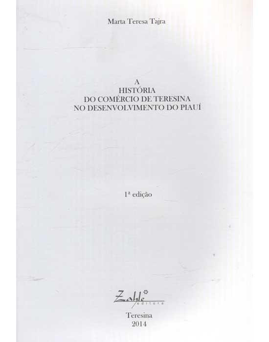 A História do Comércio de Teresina no Desenvolvimento do Piauí