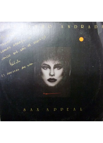 Paulinho Andrade - Sax Appeal - Autografado - Com Encarte