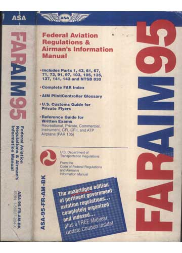 FarAim95 - Federal Aviation Regulations & Airman´s Information Manual