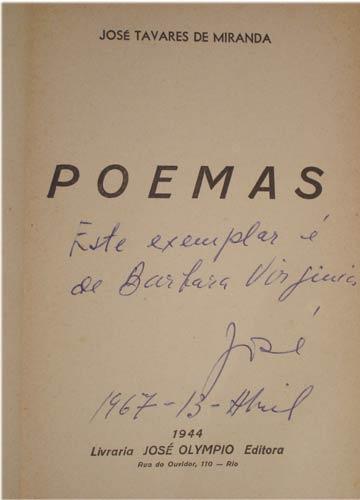 Poemas - Com Dedicatória