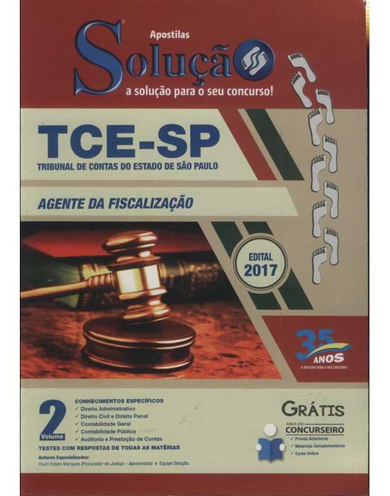 TCE-SP - Tribunal de Contas do Estado de São Paulo - Agente da Fiscalização - Volume 2