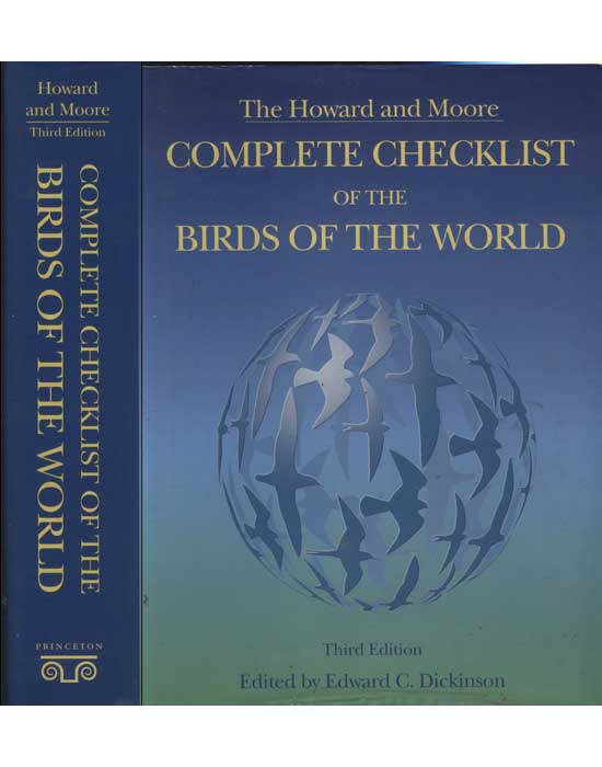 Complete Checklist of the Birds of The World