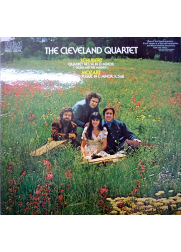 The Cleveland Quartet - Schubert / Mozart - Quartet Nº. 14 In D Minor Death And The Maiden / Adagio And Fugue In C Minor K546 - Importado