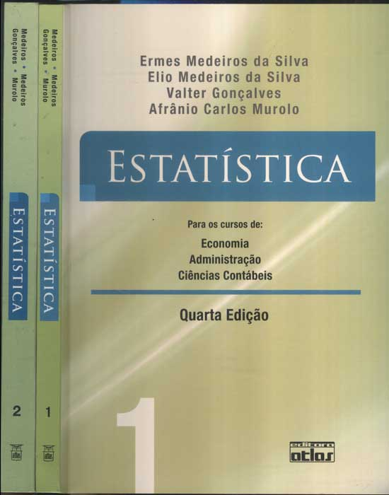 Estatística - 2 Volumes