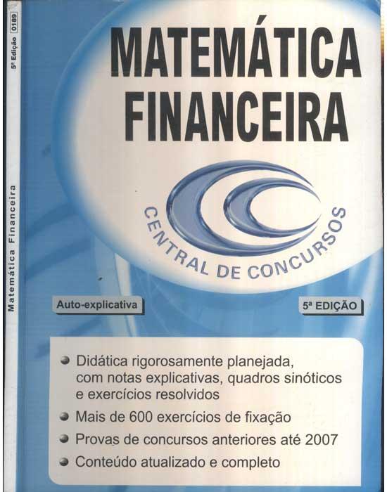 Matemática Financeira - Central de Concursos