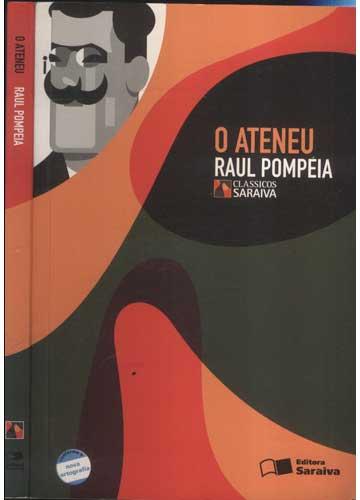 Livro - O Ateneu - Com Suplemento - Sebo do Messias