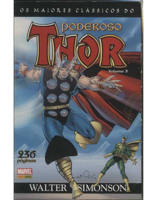 Os Maiores Clássicos do Poderoso Thor - Volume 3