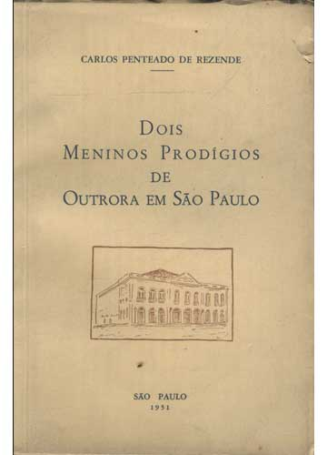 Dois Meninos Prodígios de Outrora em São Paulo