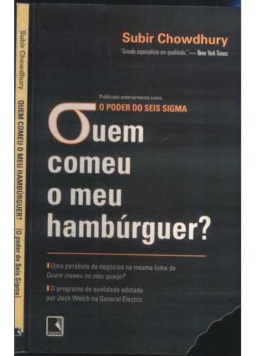 Quem Comeu o Meu Hambúrguer?